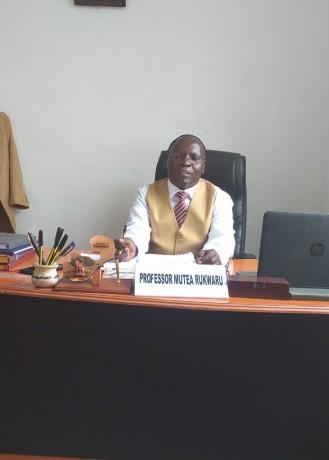 Professor Mutea Rukwaru